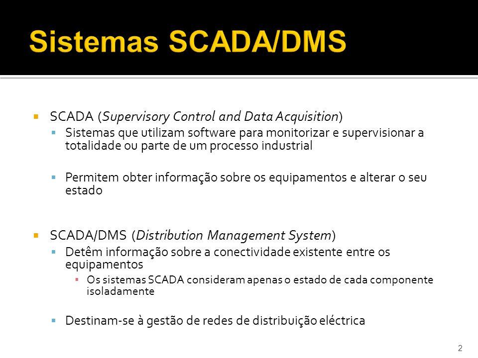 Sistemas SCADA/DMS SCADA (Supervisory Control and Data Acquisition)