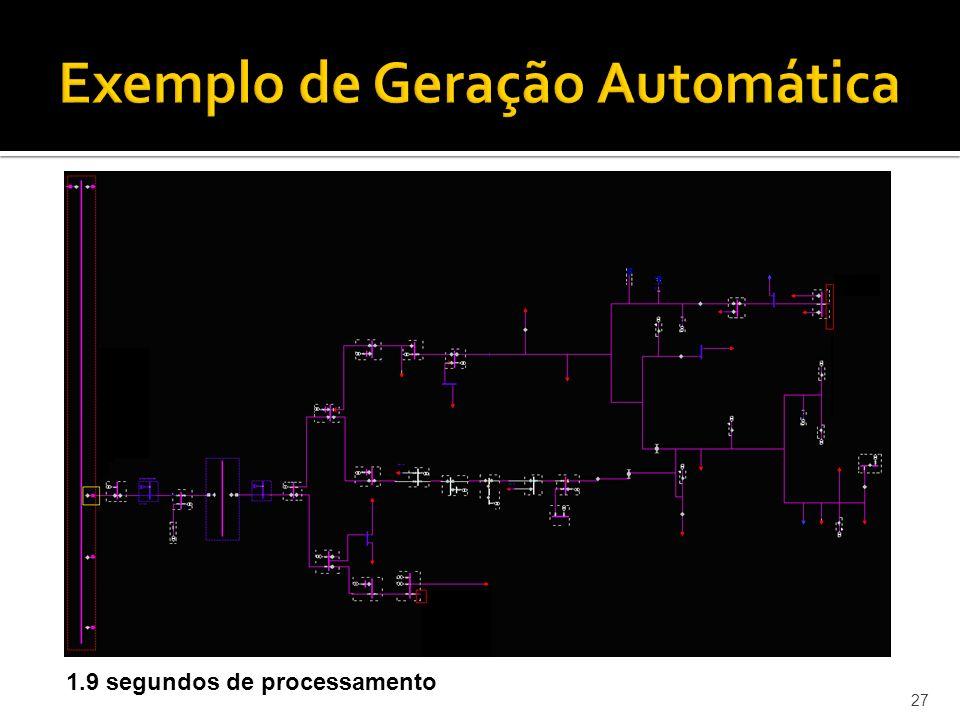 Exemplo de Geração Automática