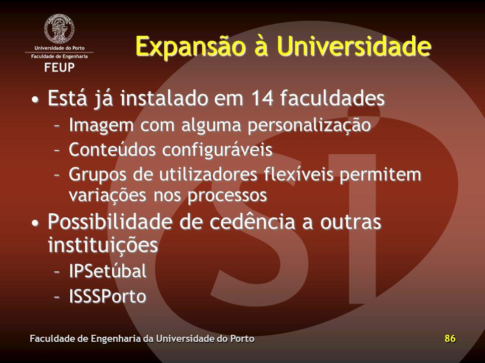 Expansão à Universidade