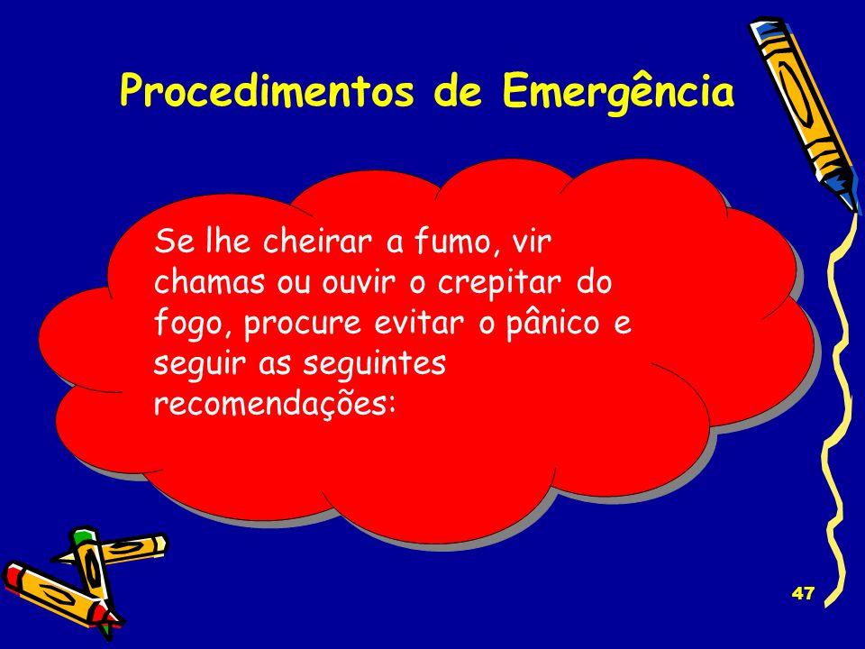 Procedimentos de Emergência