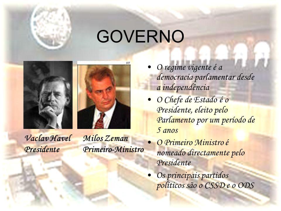GOVERNO O regime vigente é a democracia parlamentar desde a independência.