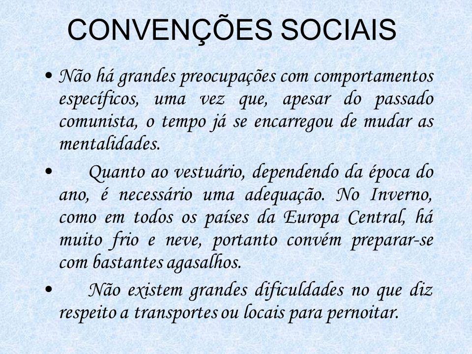 CONVENÇÕES SOCIAIS