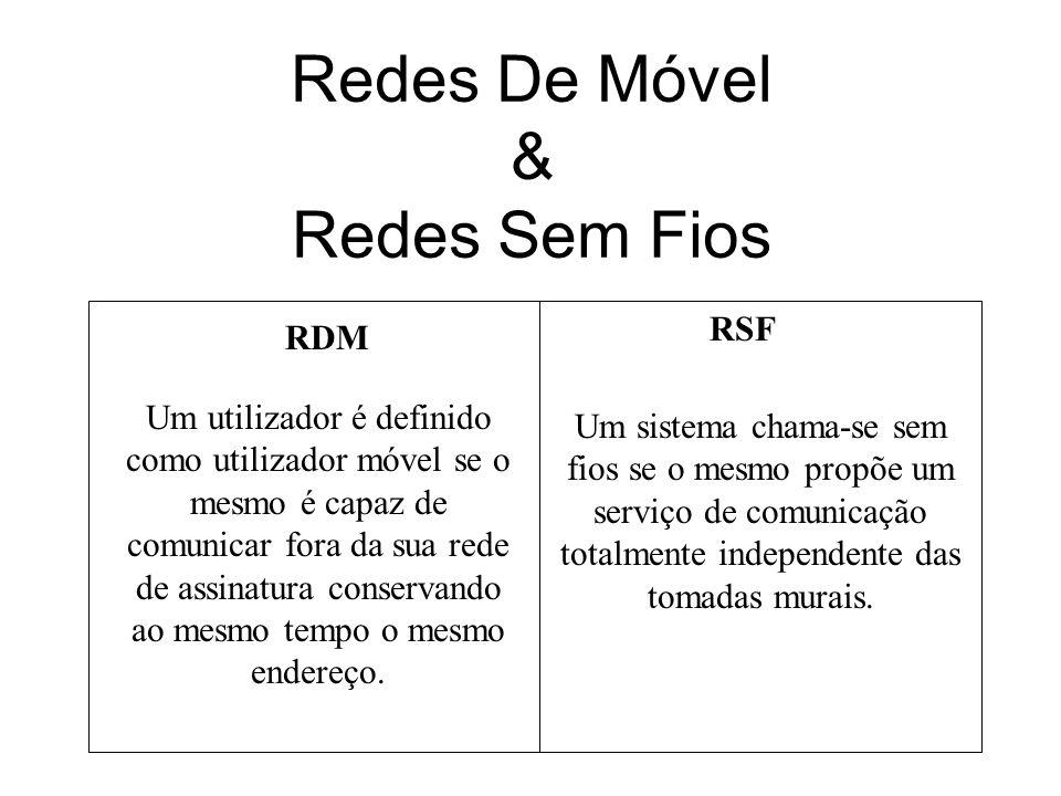 Redes De Móvel & Redes Sem Fios