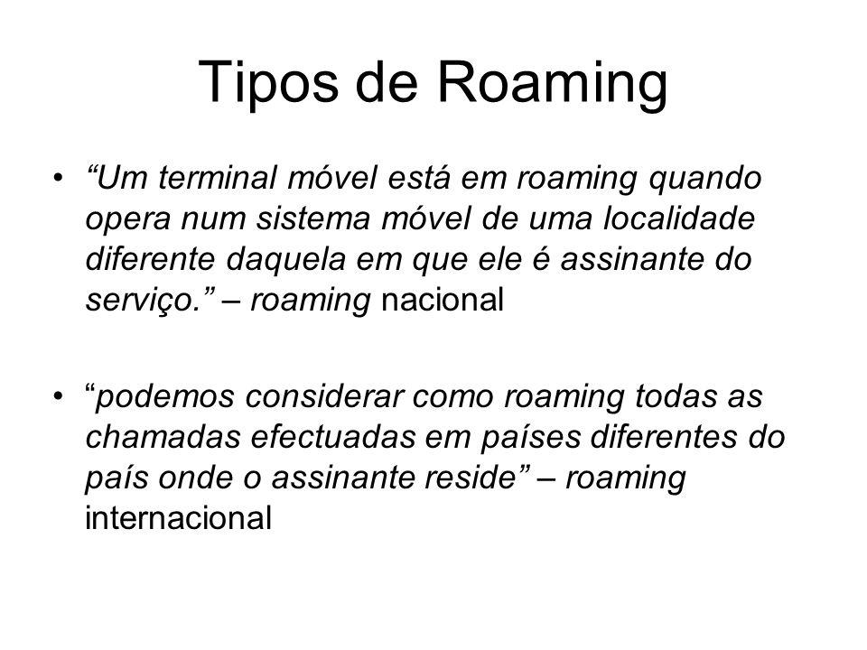 Tipos de Roaming