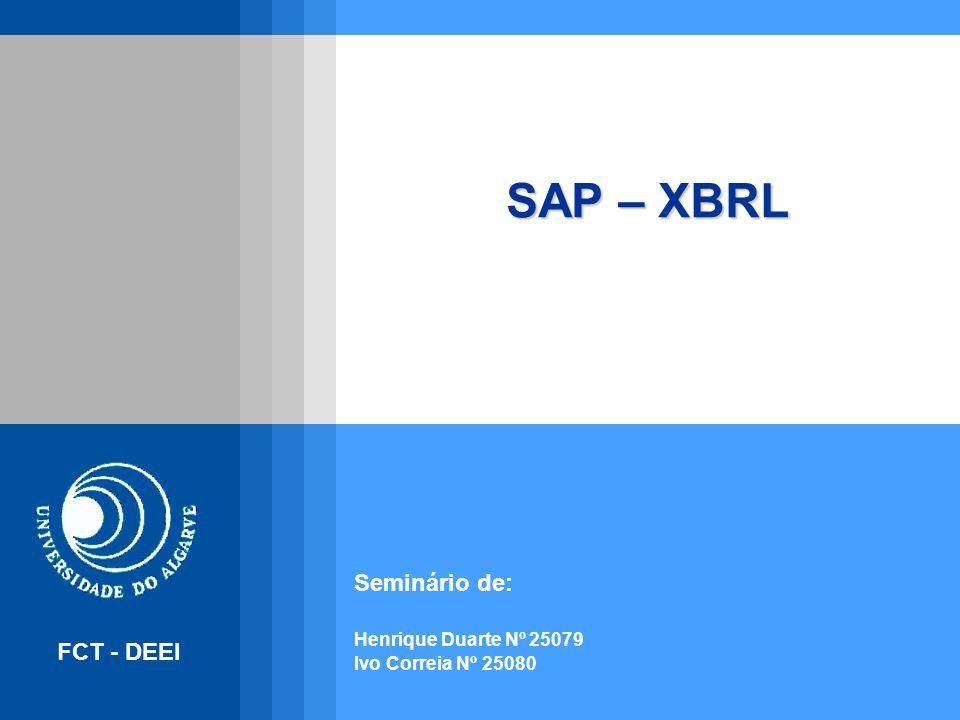 Seminário de: Henrique Duarte Nº 25079 Ivo Correia Nº 25080