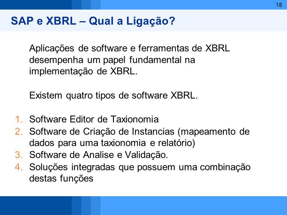 SAP e XBRL – Qual a Ligação