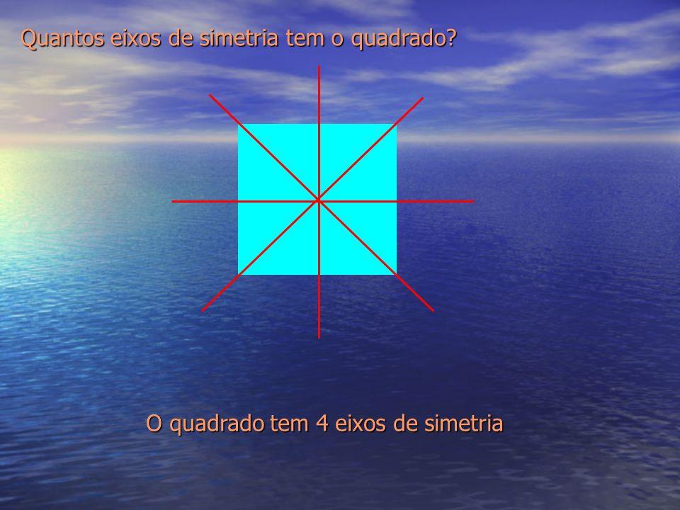 Quantos eixos de simetria tem o quadrado