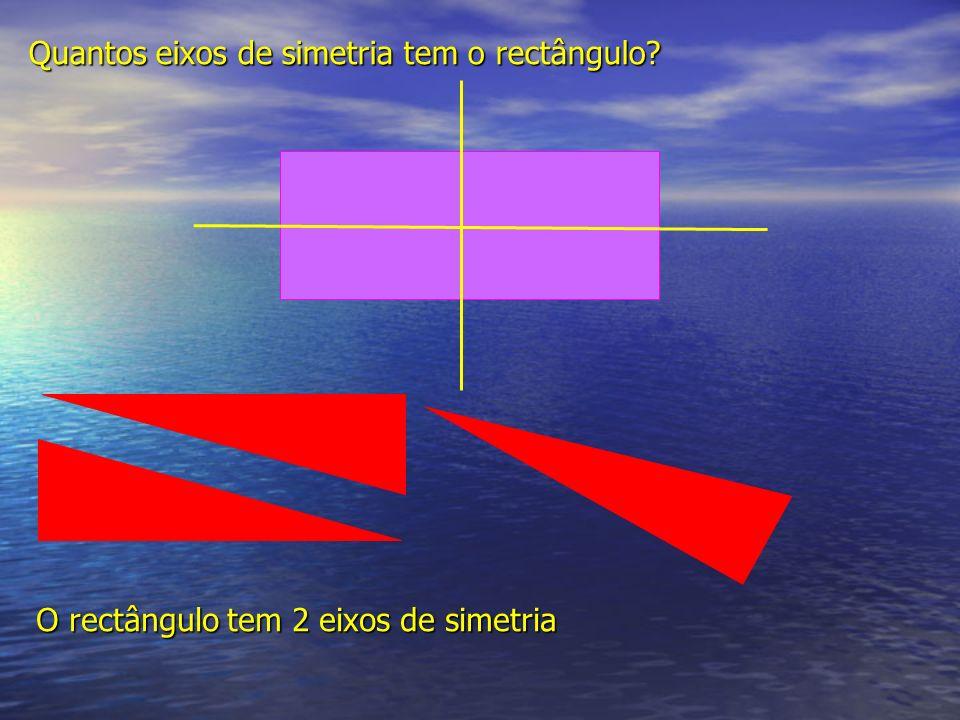 Quantos eixos de simetria tem o rectângulo