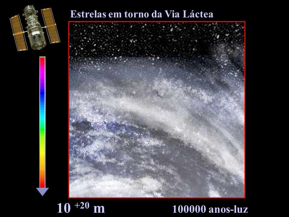 Estrelas em torno da Via Láctea
