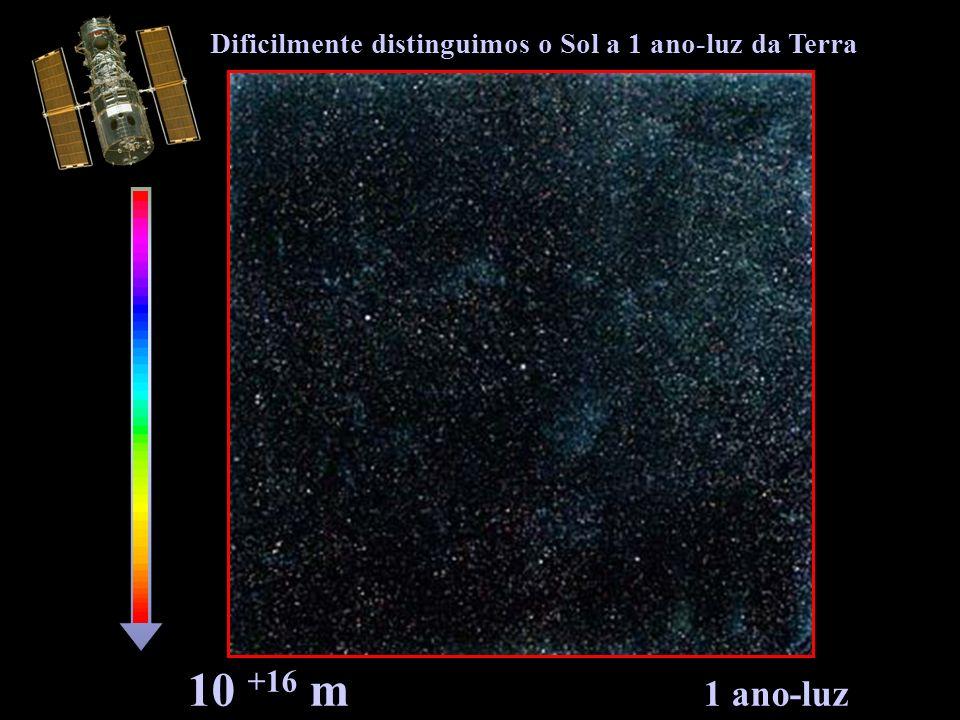 Dificilmente distinguimos o Sol a 1 ano-luz da Terra