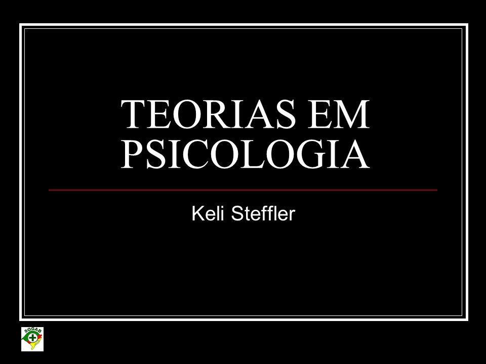 TEORIAS EM PSICOLOGIA Keli Steffler