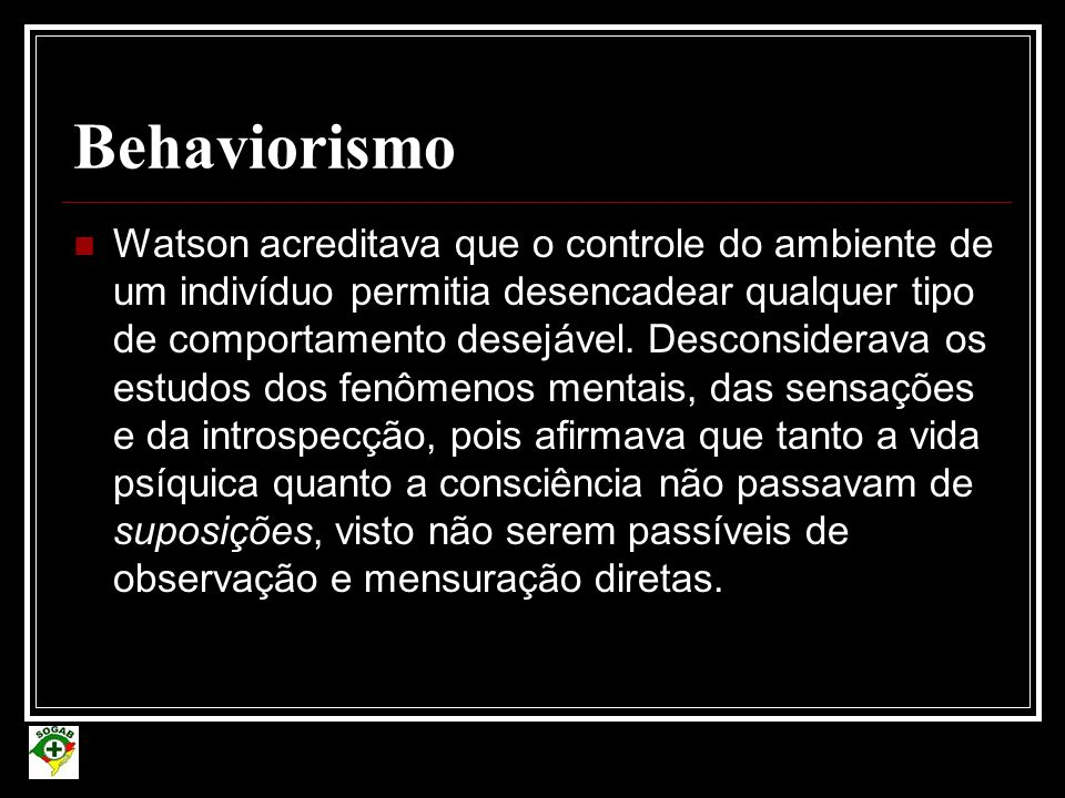 Behaviorismo
