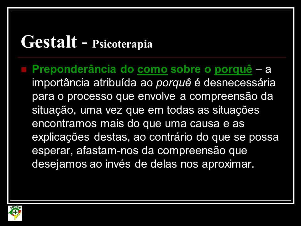 Gestalt - Psicoterapia