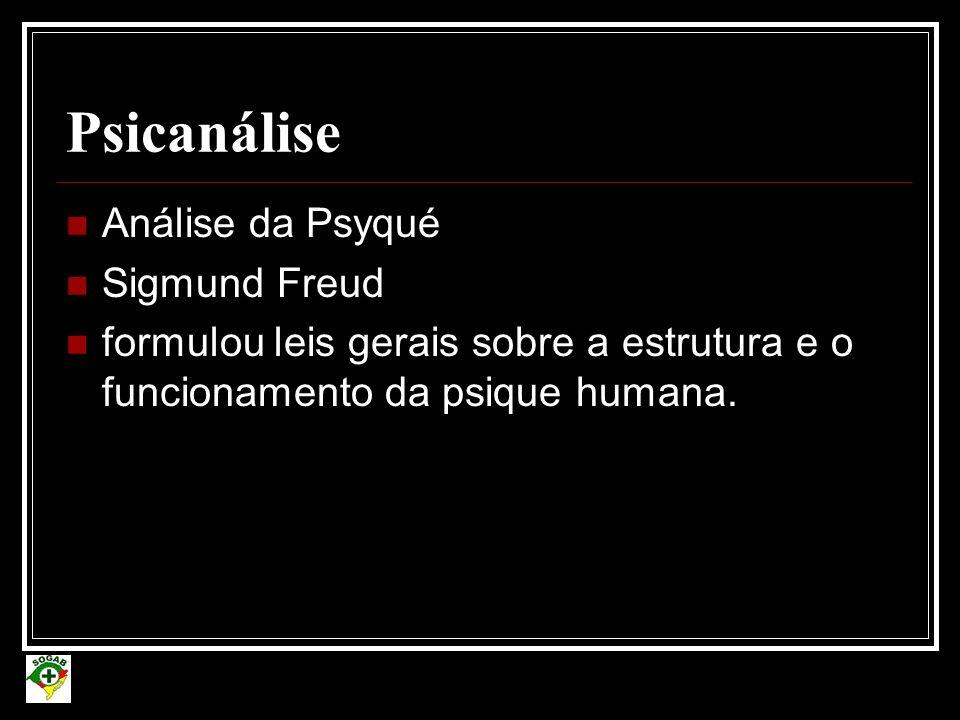 Psicanálise Análise da Psyqué Sigmund Freud