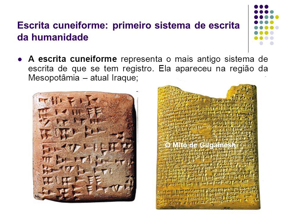 Escrita cuneiforme: primeiro sistema de escrita da humanidade