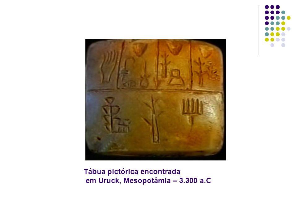 Tábua pictórica encontrada