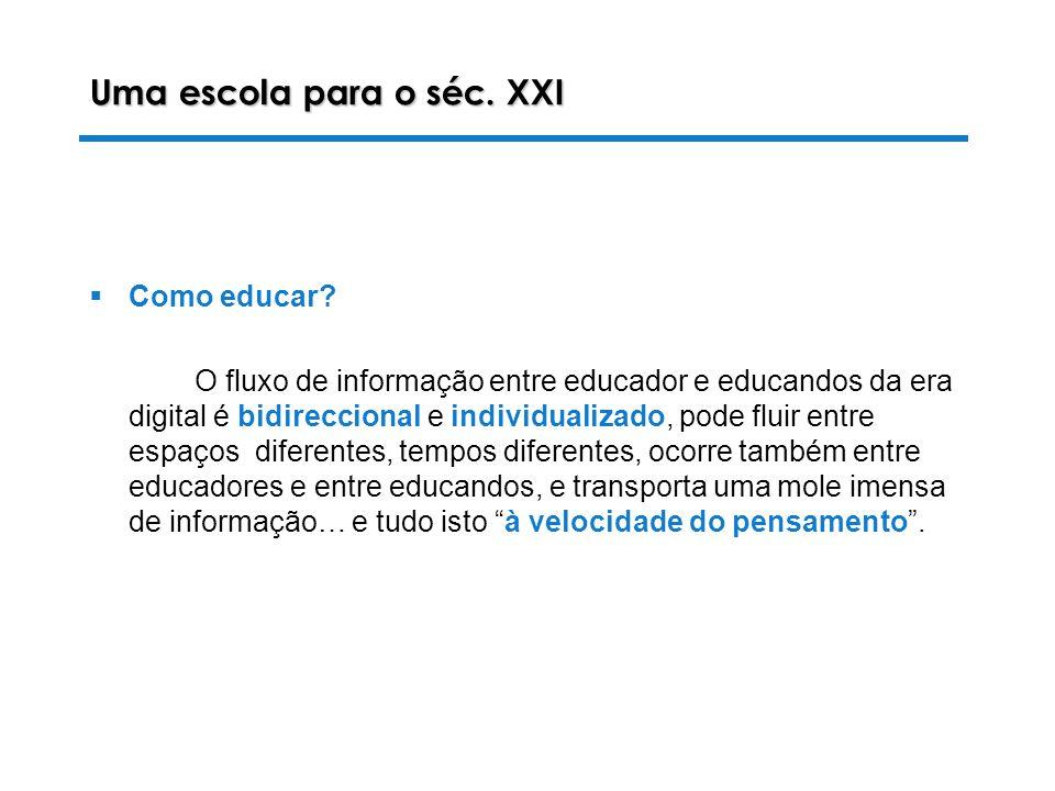 Uma escola para o séc. XXI