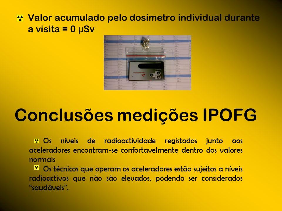 Conclusões medições IPOFG