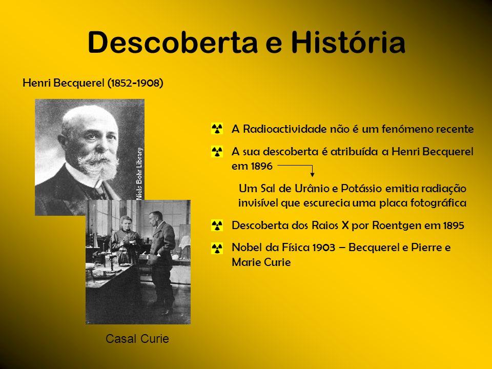 Descoberta e História Henri Becquerel (1852-1908)