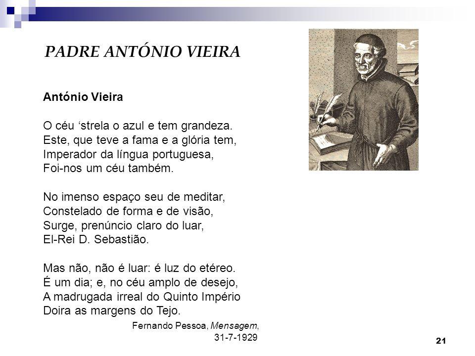 PADRE ANTÓNIO VIEIRA António Vieira