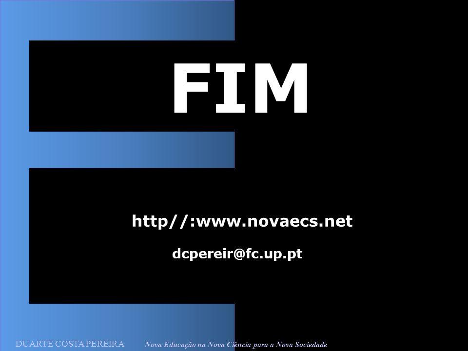 http//:www.novaecs.net dcpereir@fc.up.pt