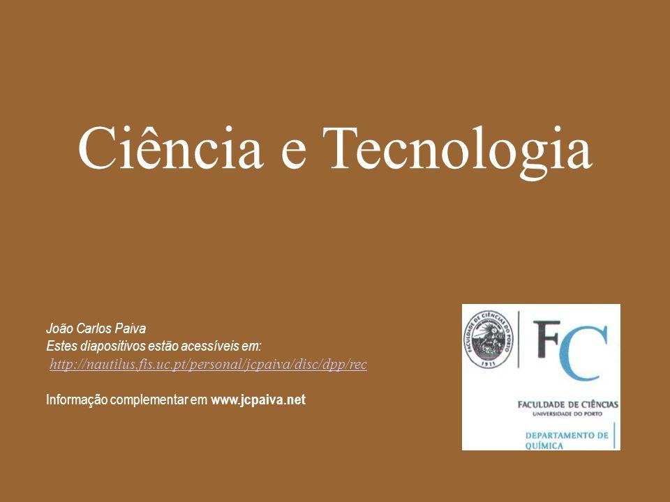 Ciência e Tecnologia João Carlos Paiva
