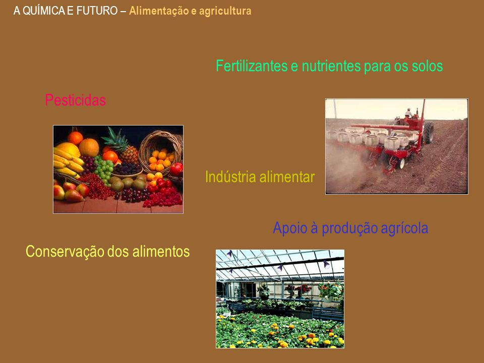 Fertilizantes e nutrientes para os solos