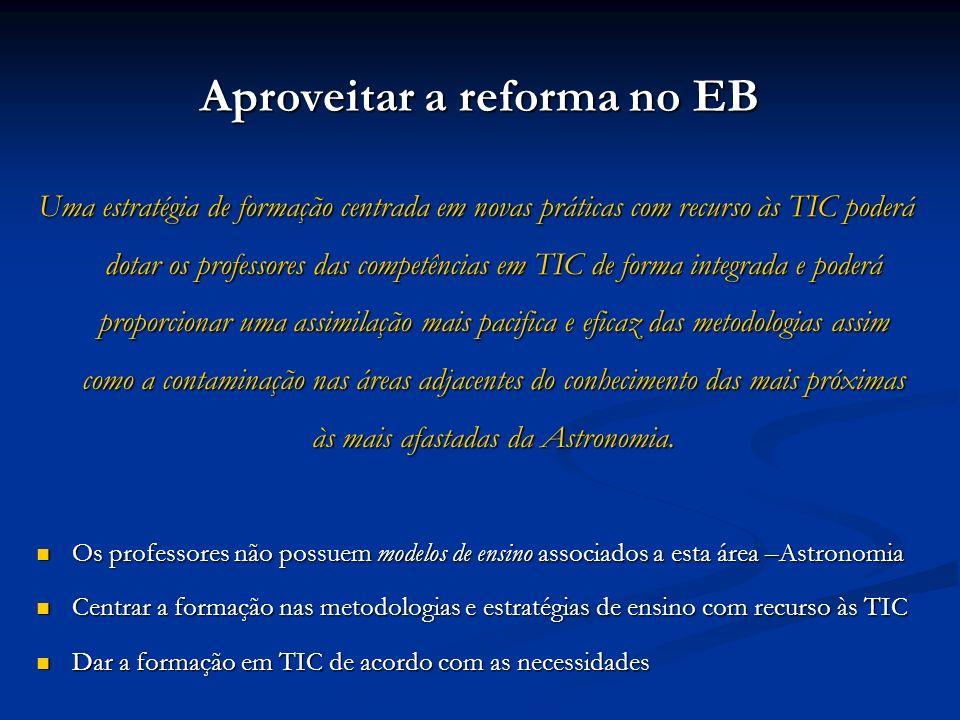 Aproveitar a reforma no EB