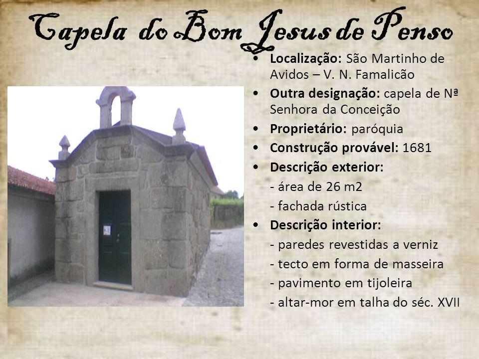 Capela do Bom Jesus de Penso