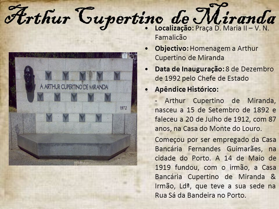 Arthur Cupertino de Miranda