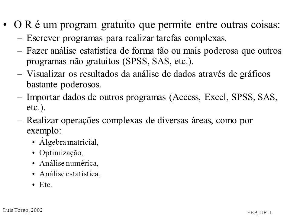 O R é um program gratuito que permite entre outras coisas: