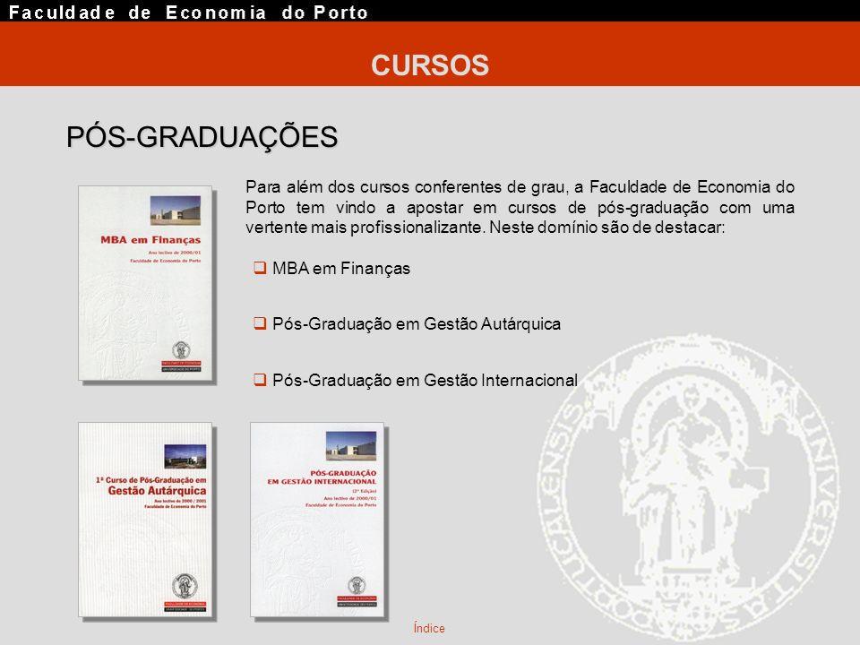CURSOS PÓS-GRADUAÇÕES