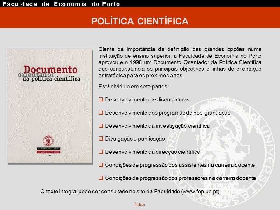 POLÍTICA CIENTÍFICA