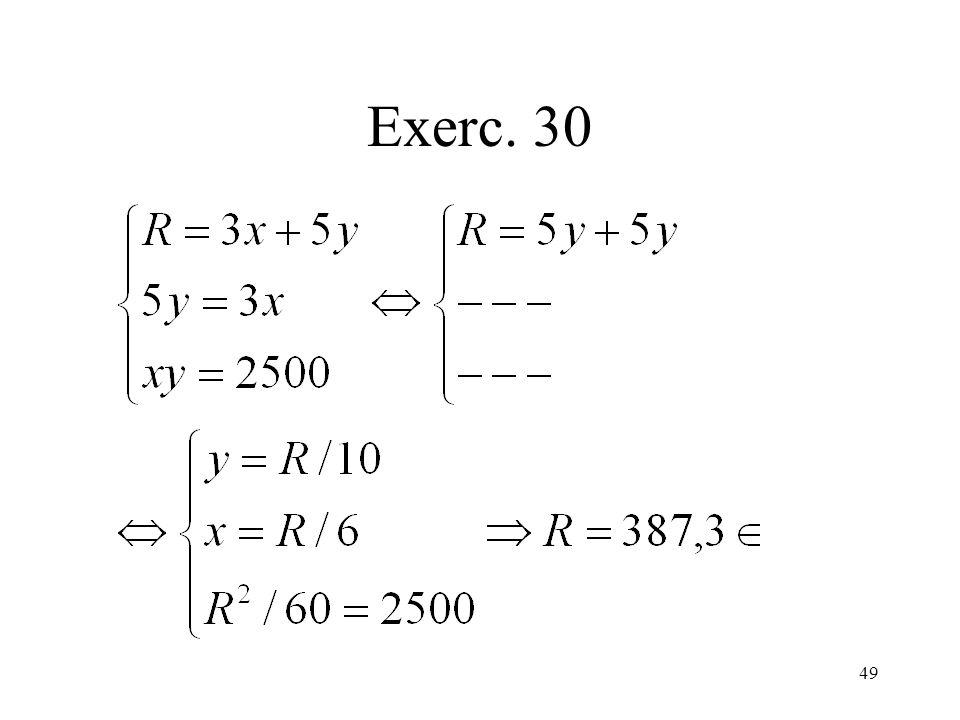 Exerc. 30