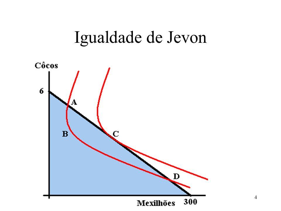 Igualdade de Jevon