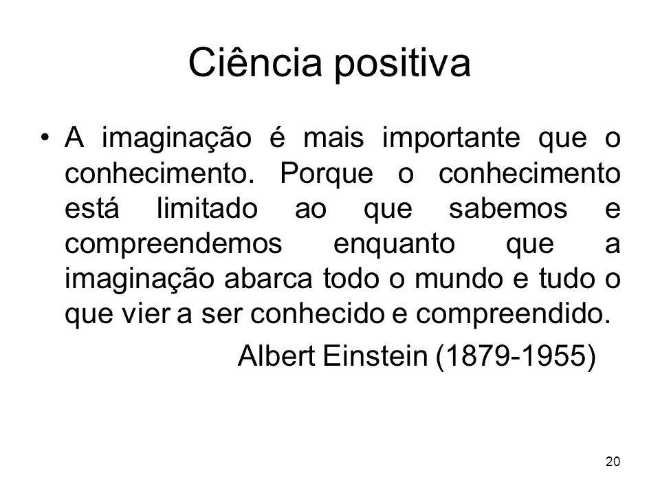Ciência positiva