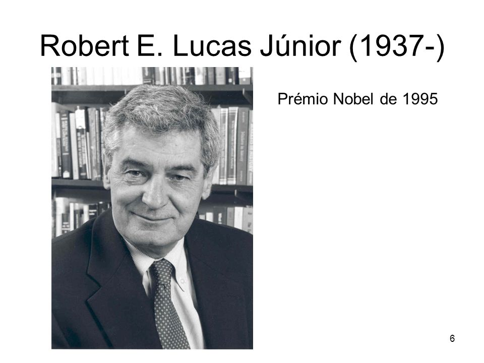 Robert E. Lucas Júnior (1937-)