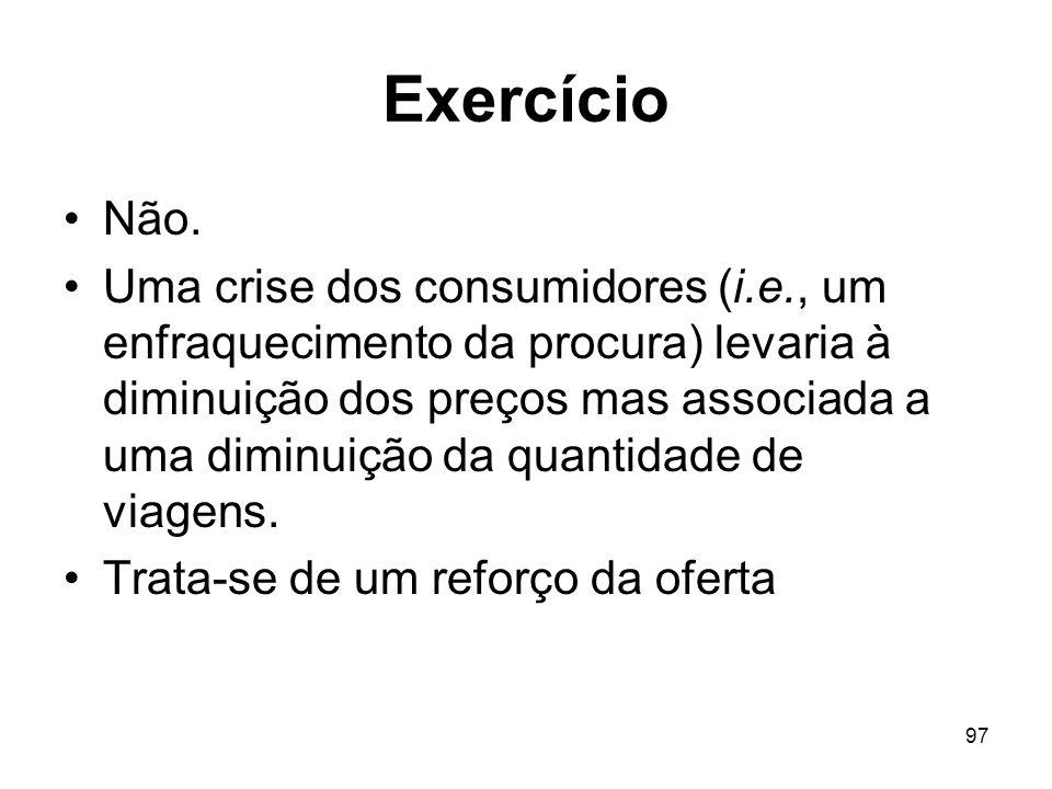 Exercício Não.