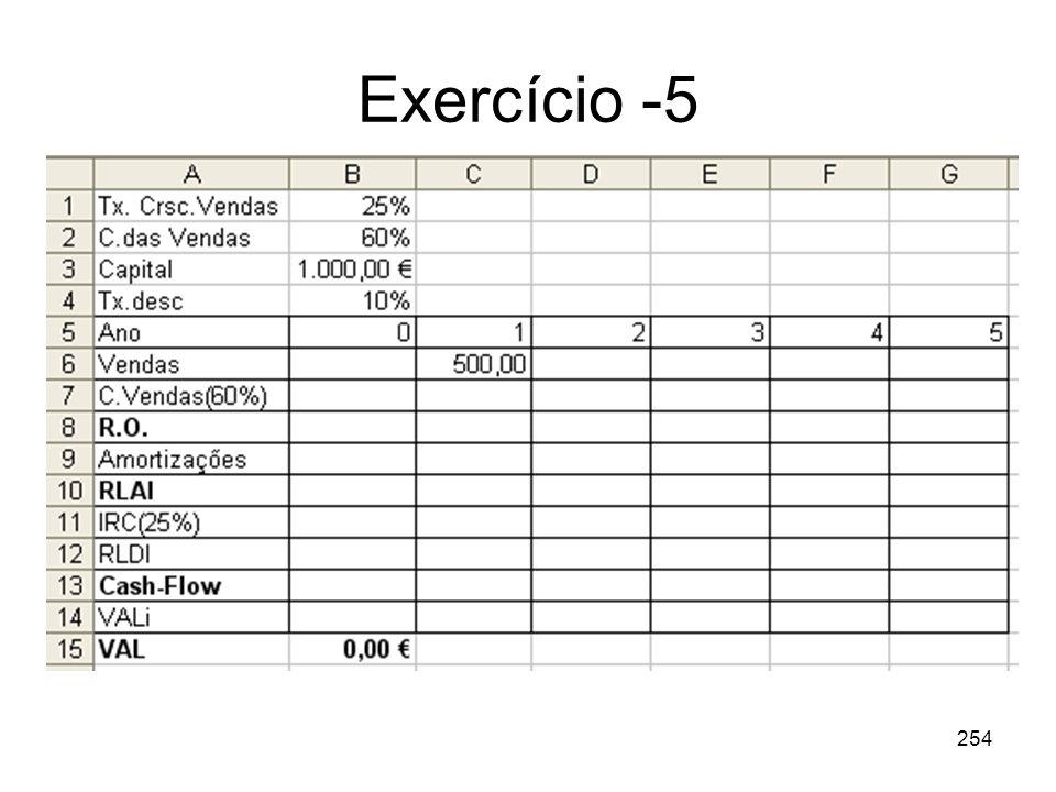 Exercício -5