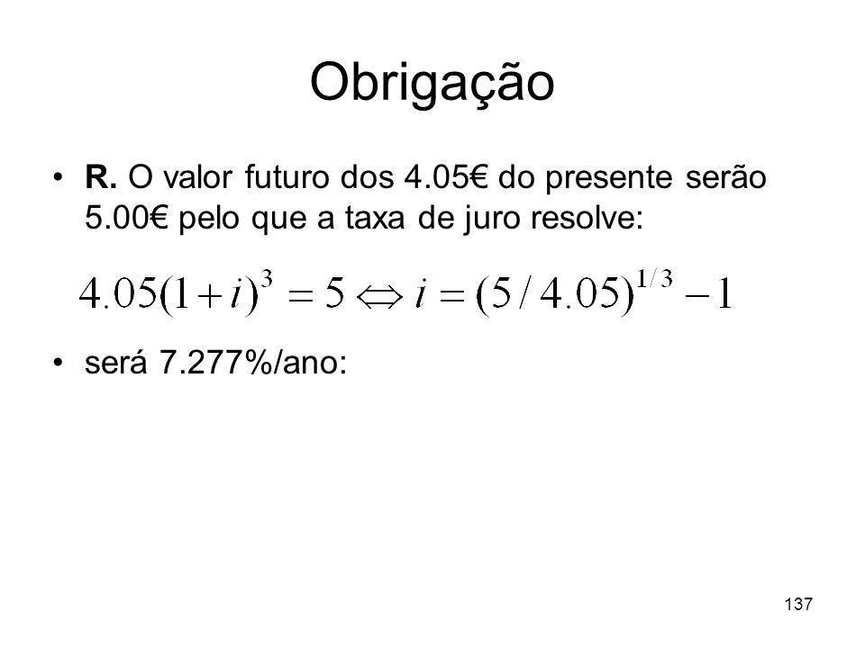 Obrigação R.