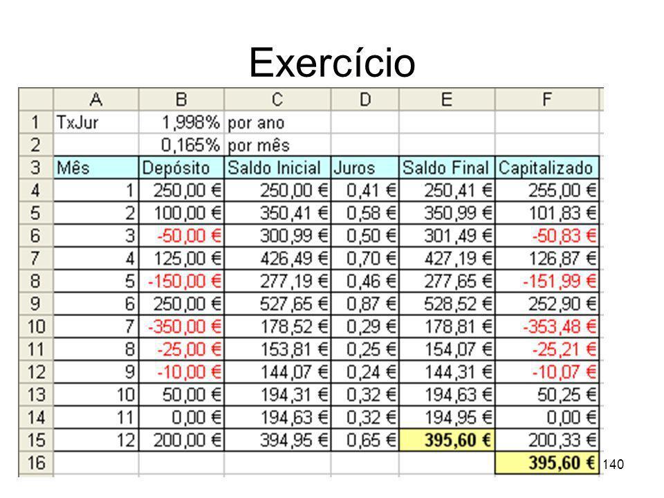Exercício 140