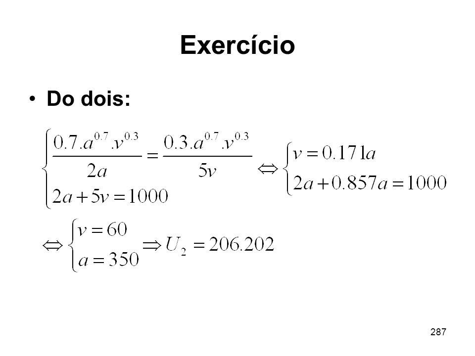 Exercício Do dois: