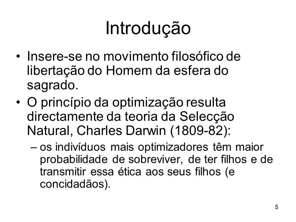 IntroduçãoInsere-se no movimento filosófico de libertação do Homem da esfera do sagrado.