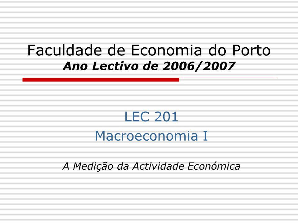 Faculdade de Economia do Porto Ano Lectivo de 2006/2007
