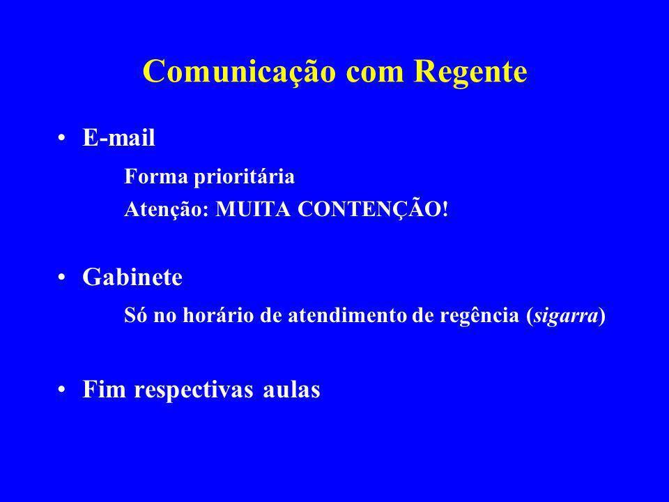 Comunicação com Regente