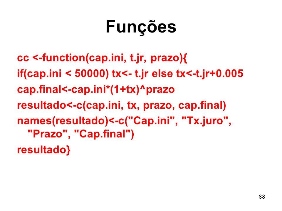 Funções cc <-function(cap.ini, t.jr, prazo){