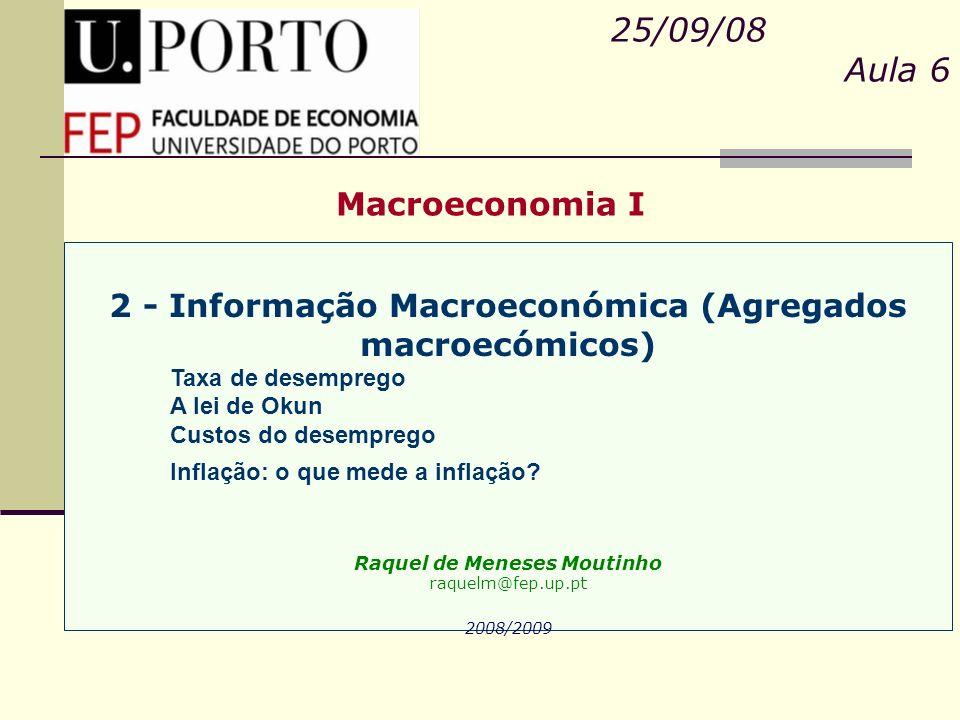 25/09/08 Aula 6 Macroeconomia I