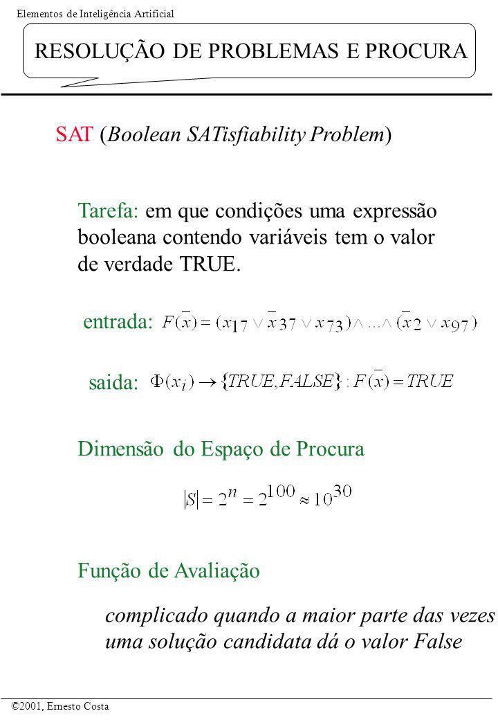 SAT (Boolean SATisfiability Problem)