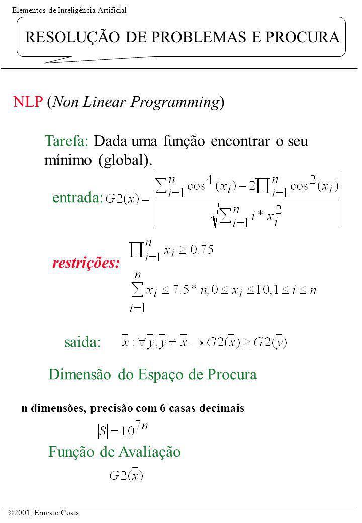 NLP (Non Linear Programming)