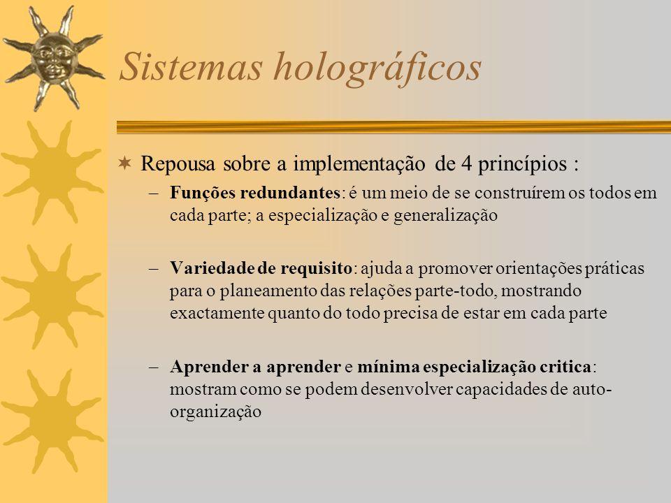 Sistemas holográficos